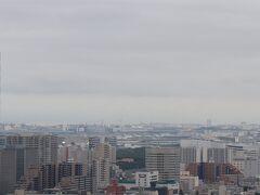 眺望は正面に羽田空港。
