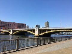 蔵前橋 オートバイに乗っていた頃はよくここを通りました。