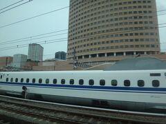 アクトシティが見えたら浜松。 いやあ、のんびり東海道を下るのもいいですねえ。なんたって自由席に210円だけ追加でグリーンですよ(←しつこい)