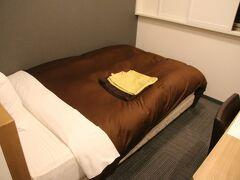 ベッドは結構広いサイズで硬さもちょうどよい感じでしっかり眠れました。ベッドや枕が変わるとあまり寝られない感じなんですが良い寝心地でした。