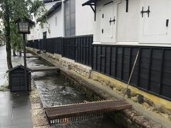 ここらへんが瀬戸川と白壁土蔵街です!