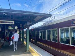 松尾大社駅は、のんびりした良い駅。