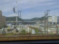 関門海峡潜って下関駅で乗り換え。
