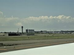 新千歳空港に到着。