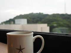 <CANDEOHOTELS 松山大街道> おはようございます。 持参したドリップコーヒを見ながら本日の予定を考えます。