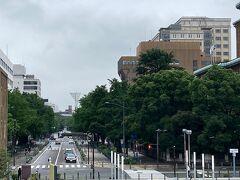 「日本大通り」です。 今では両脇に季節毎の花々が植えられて大変綺麗です。 こちらは、横浜開港後、明治の初めにイギリス人建築家リチャード・ブラントンの設計により、日本初の西洋式街路としてほぼ完成しました。 港湾に繋がる横浜のメインストリートで下水道と一体で整備されました。当初は都市景観のためではなく、火除地・防火帯としての機能と、日本人街との外国人居留地とのゾーニングのために設計された広小路の一種と考えられています。