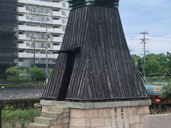 そして、案内板にも載っていた今津灯台。 周りが近代化し過ぎて、イマイチ目立ちませんが、大関酒造が設置した、民営の又木造の灯台としては、最古の物だとか。。