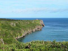 白鳥崎方面 低い雲が多めで、海の色がイマイチ