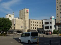 横手駅前にある横手ステーションホテル とても安く泊まれました。