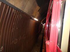 嵯峨野観光鉄道嵯峨野観光線(トロッコ列車)トロッコ嵐山駅停車中です。