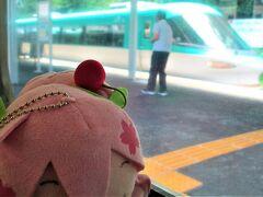 湯浅---。  特急(krso)→停車㊥になってたんで,その隙にパシャリ(☆∀☆)?