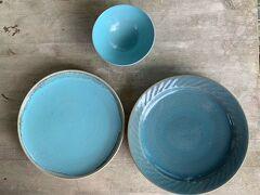 最終日は、石垣ドライブに。 12月にオーダーしておいた、やばまれ陶房さんのお皿をピックアップ! ようやく大きなお皿が手に入りました。