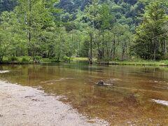 田代池、池というよりも川みたいな感じです。昔は舟が浮かぶような池だったそうです。
