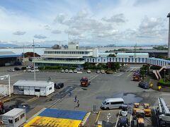 名古屋フェリー埠頭到着。