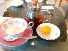 tea time  倉敷国際ホテルでお茶しました。