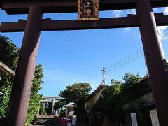 翌朝、いつも沖縄に行くとお詣りしてる波之上宮へ。参拝し家内安全を祈りました