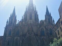『バルセロナ大聖堂』 またの名をサンタ・エウラリア大聖堂