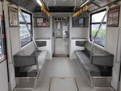 中筋駅からはアストラムラインで長楽寺駅へと向かいます。バスで直接広島市街に行かなかったのは最初に向かう場所がアストラムラインの沿線だからです。