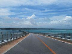 さあ、今日も伊良部大橋を渡って本島に出動。 気分は通勤?