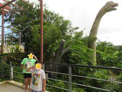 まさかの恐竜おかわり!  この数年で急に恐竜王国化しているOKINAWA。 ジュラシックパーク大好きなお子さんホイホイですわ。