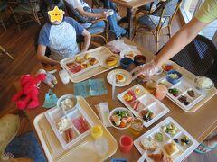 今日は水納島でーーい! 勿論、お子さん達もyoutubeで予習済みなのでテンション上がってんのは母だけではありません。 しっかり食べて備えたまへ!