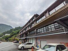 剣山方面の観光から戻って本日はホテルかずら橋に宿泊します。