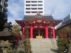 西新宿にある人気神社