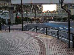 旭橋駅まで徒歩。10分弱