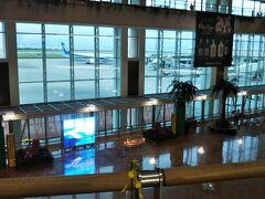 朝7時の那覇空港