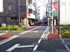 駅前周辺の商店街は「ウルトラマン商店街」といいます。笑  そして、駅前から伸びる道路を進んでいくと。。。