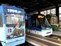 路面電車が走る街は、そこそこの規模があり、人口が多すぎず、住みやすそうな気がする。折り返しで、鹿児島駅前へ向かう。