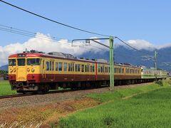 まずは弥彦線の吉田駅手前の田園地帯へ  ここで東三条からやってくる6両編成の115系を撮影します。 JR東日本では最後の115系が活躍していますが、リバイバルカラーなどに塗り替えられている編成が多いので6両とある混色になることがほどんどです。  ココでの撮影の様子はこちらで詳しく紹介してます。 https://rail.travair.jp/?p=10336