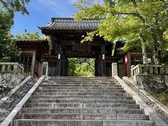 足湯の前に、まずは修禅寺にお参りさせて頂きましょう。