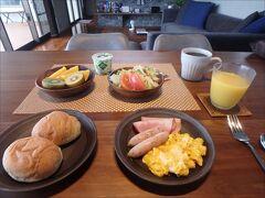 朝食は自炊