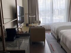 ホテルの部屋に
