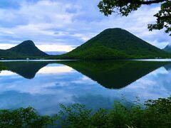 静寂の榛名湖の…