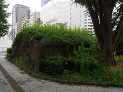 高輪大木戸跡 泉岳寺駅の近くです。江戸の出口です。