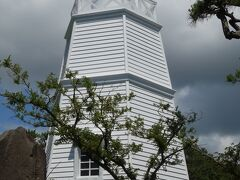 日和山公園にある木造六角灯台