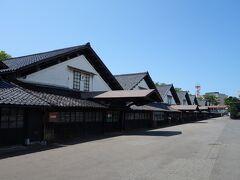 米どころ庄内のシンボル山居倉庫