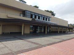 <真珠博物館>  次に、海女スタンドの向かい側にある真珠博物館へ。