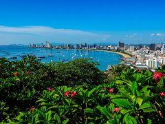 Viewpoint Pattaya Sea island touchに向かっていたが、道を間違えて偶然辿り着いたパタヤビューポイントからの景色
