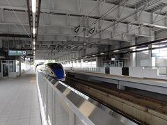 9:43 飯山駅到着