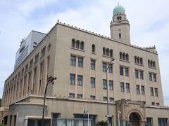 こちらは県庁近くの横浜税関 通称「クイーン」