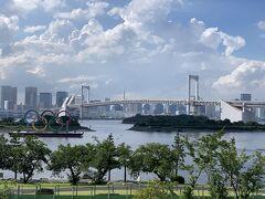 ここから2021/7/15の写真 日本橋に行く前に、ここだけ写真におさめておきたくて、お台場へ。 お台場なんて何年ぶりだろう…