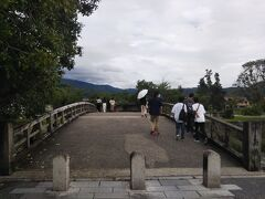 「渡月橋」です。