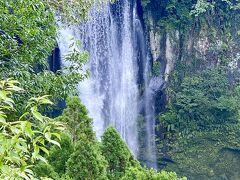滝見台からでも見られます  豪雨の日があったので  水量も多くなかなかの迫力