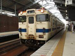2021.07.03 西熊本 この3ヵ月間、仕事を言い訳にしてキハ4回と415系1回しか乗ってない。今日もキハからスタートである。