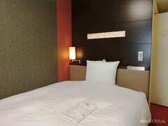 この日の宿泊はリッチモンドホテルプレミア。