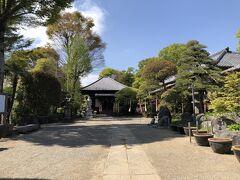 帰りは観音寺に参拝。