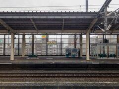 熊谷駅に到着。  熊谷の上り線はホームが2線あるんですね~